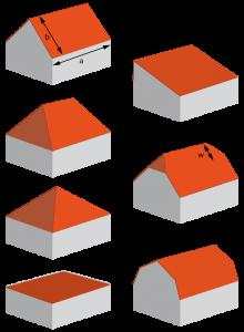 Dachformen © mo-ment.de