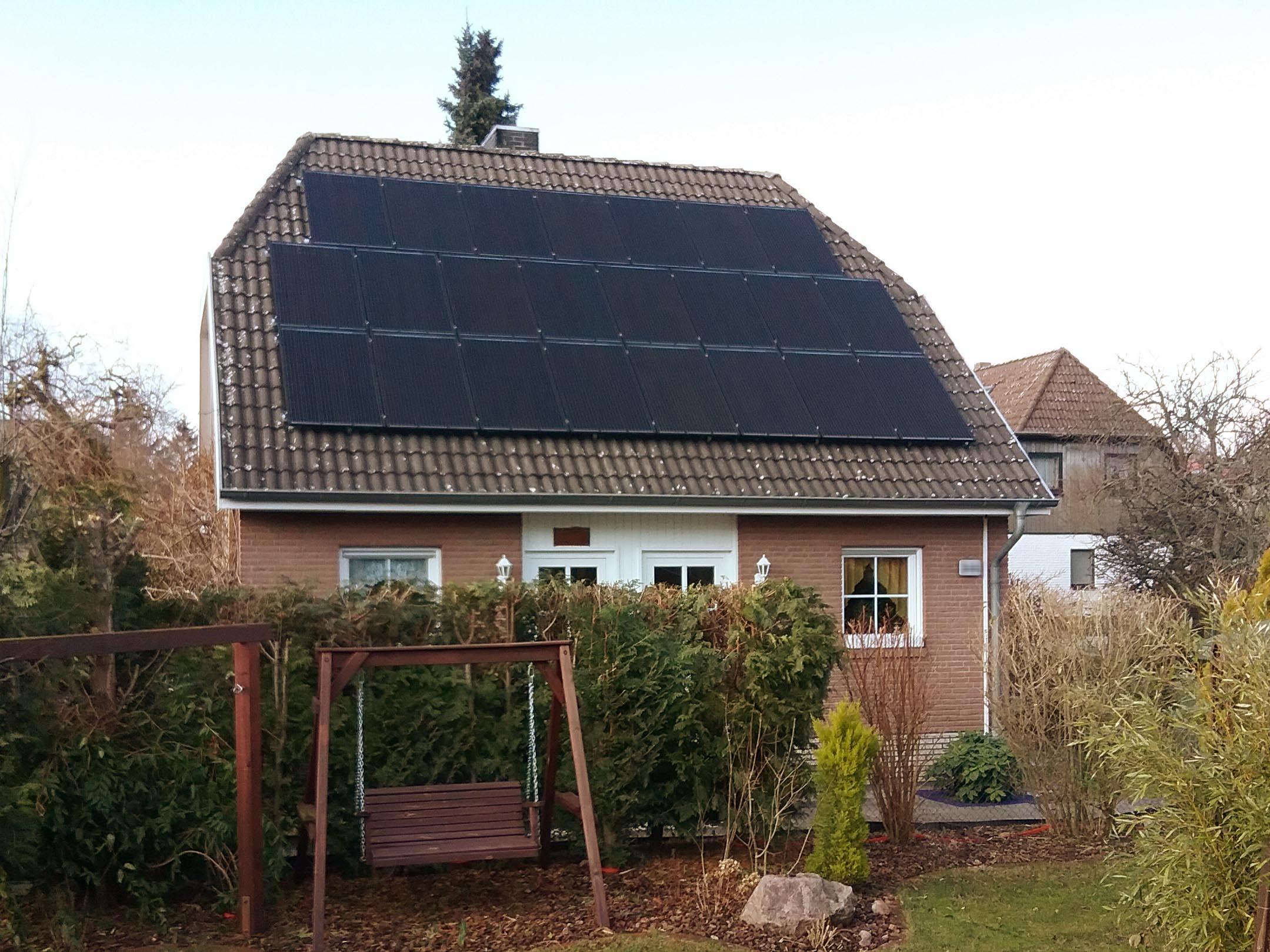 1A Solarwatt Photovoltaikanlage 2018