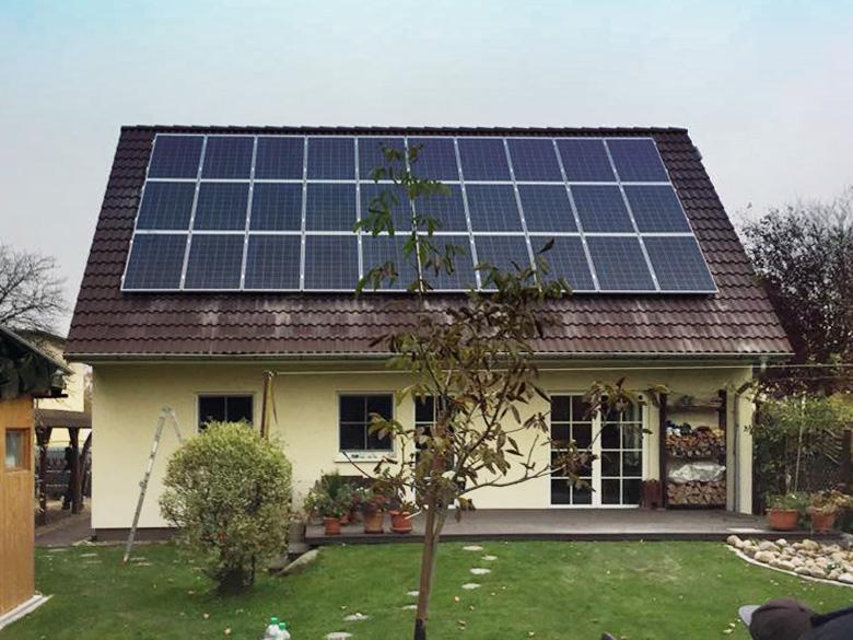 1A Solarwatt Photovoltaikanlage 2017