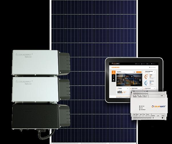 Komplettsystem Solarwatt